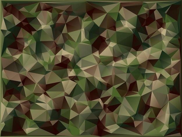 Vetor abstrato fundo de camuflagem militar Vetor Premium