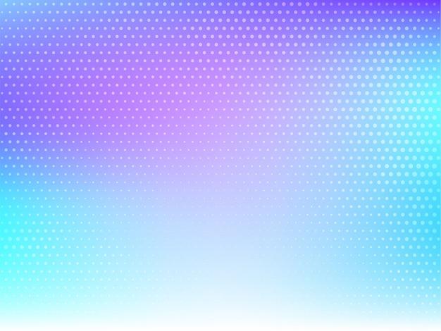 Vetor abstrato moderno colorido de meio-tom Vetor grátis