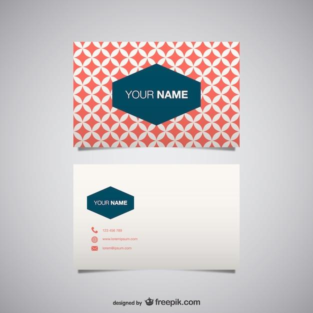 Vetor cartão de visita gratuitamente para download Vetor grátis