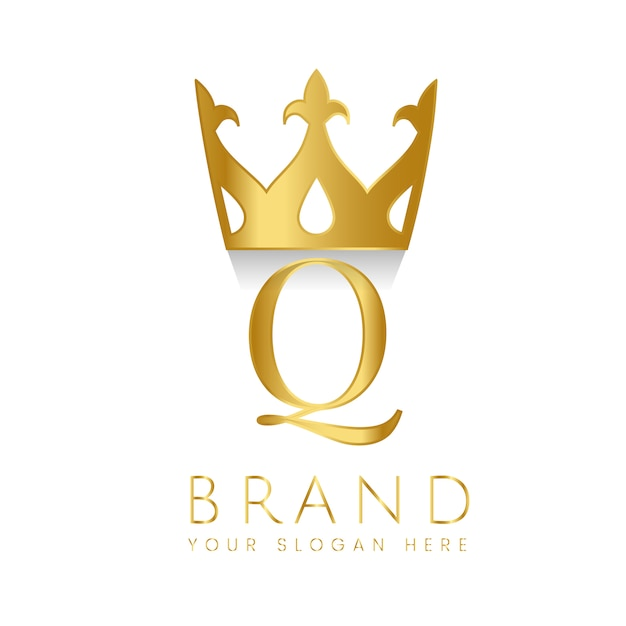Vetor criativo da marca premium q Vetor grátis