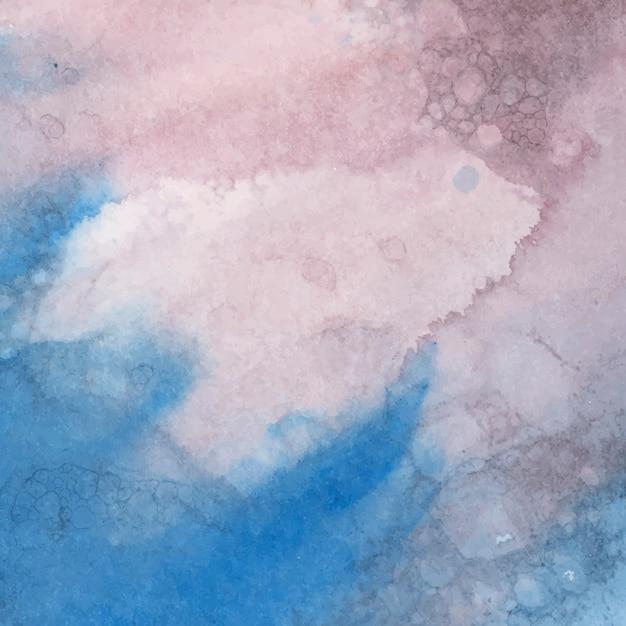 Vetor de abstrato colorido aquarela Vetor grátis