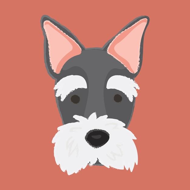 Vetor de cão terrier escocês Vetor grátis