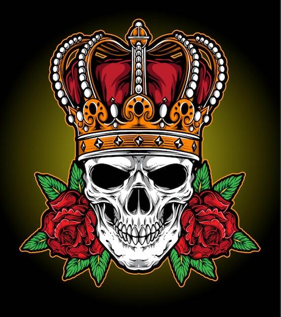 Vetor de coroa de reis Vetor Premium