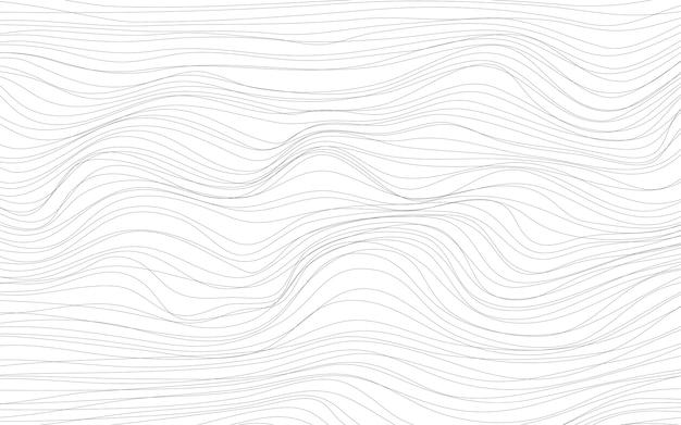 Vetor de fundo branco de texturas de onda Vetor grátis