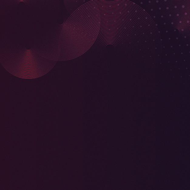 Vetor de fundo estampado vermelho e preto Vetor grátis