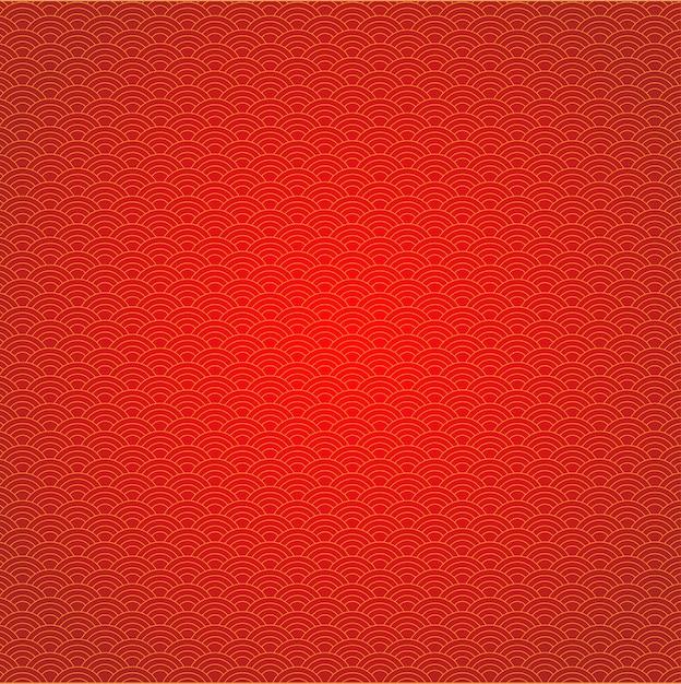 Vetor de gráfico de ano novo chinês abstrato e fundo Vetor Premium