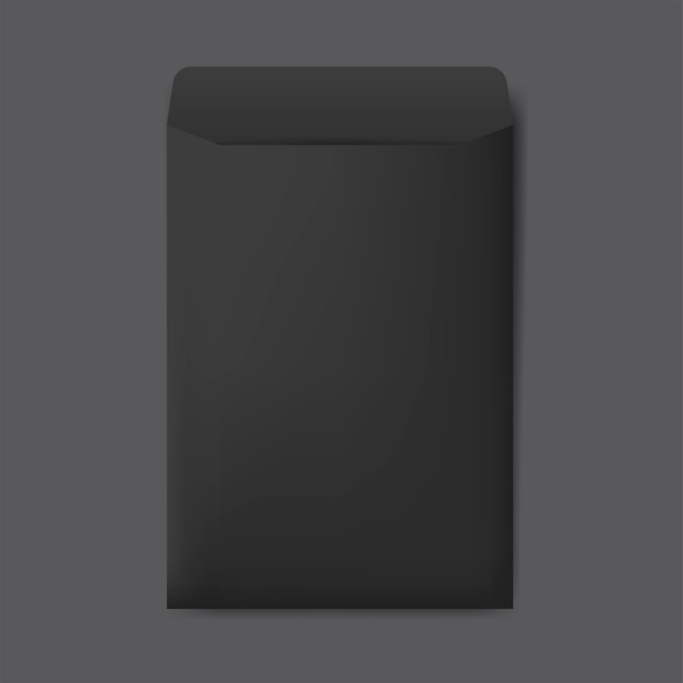 Vetor de maquete de design de envelope de papel Vetor grátis