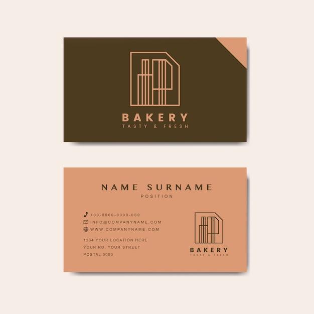 Vetor de modelo de cartão de loja de café Vetor grátis