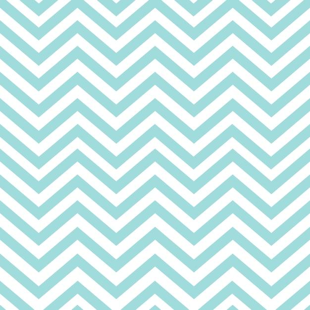 Vetor de padrão em zigue-zague sem emenda turquesa Vetor grátis