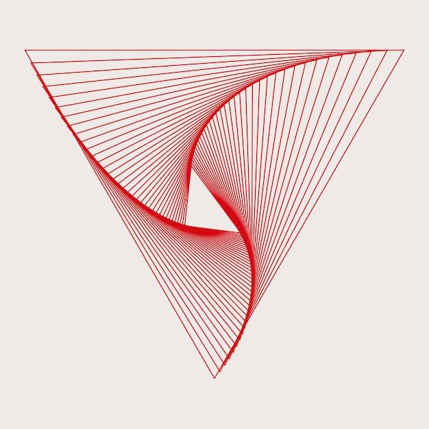 Vetor de papel de parede abstrato dinâmico padrão Vetor grátis