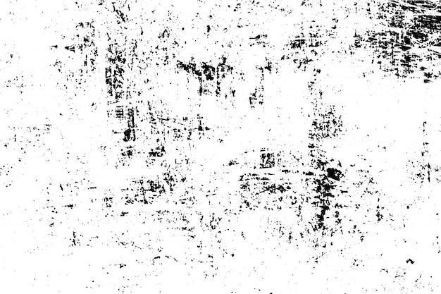 Vetor preto e branco da textura do grunge da ilustração. conceito de efeito grunge de sobreposição. Vetor Premium