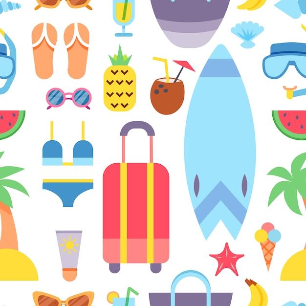 Viagem pelo mundo. planejando as férias de verão. férias de verâo. turismo e tema de férias. Vetor grátis