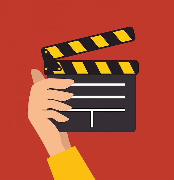 Vídeos e entretenimento Vetor Premium