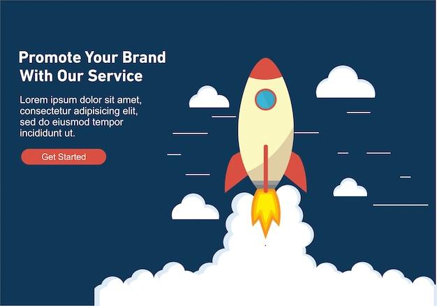 Web design para seo Vetor Premium