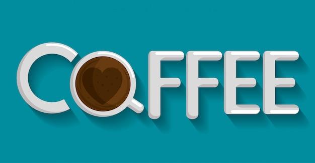 Xícara de café delicioso ícone Vetor grátis