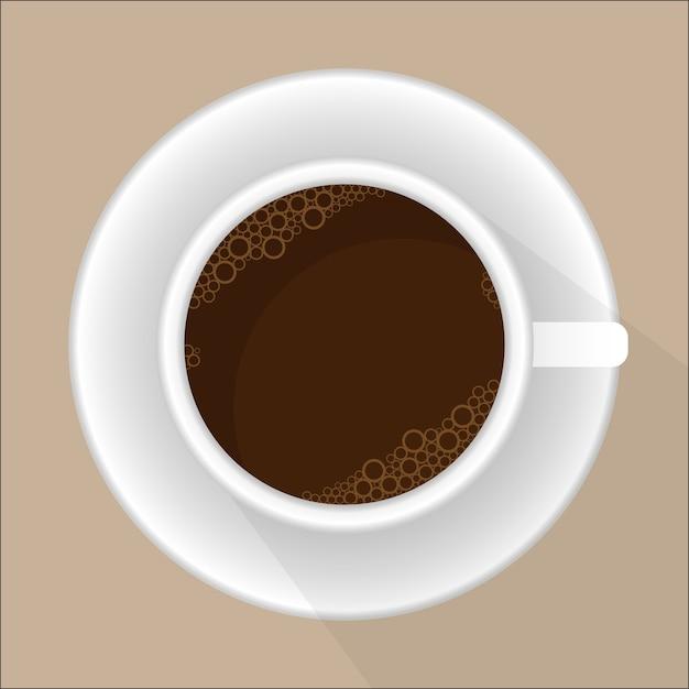 Xícara de café Vetor Premium
