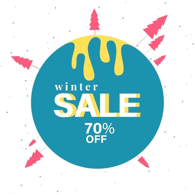 70% di sconto sul badge di vendita Vettore gratuito