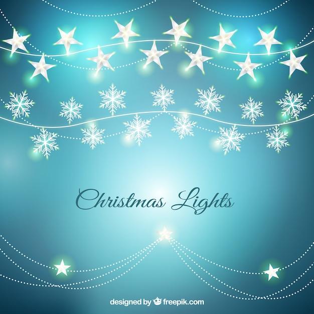 Stella Di Natale Luce.A Forma Di Stella Di Natale Luce Di Fondo Scaricare Vettori Gratis