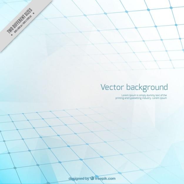 Abstract background in toni blu Vettore gratuito