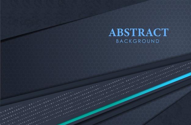 Abstract luxury realistici strati di sfondo e punti luccicano Vettore Premium