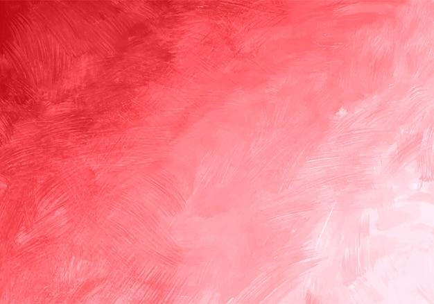 Acquerello astratto morbido rosa texture di sfondo Vettore gratuito
