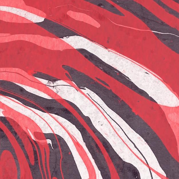 Acquerello astratto sfondo di marmo Vettore Premium