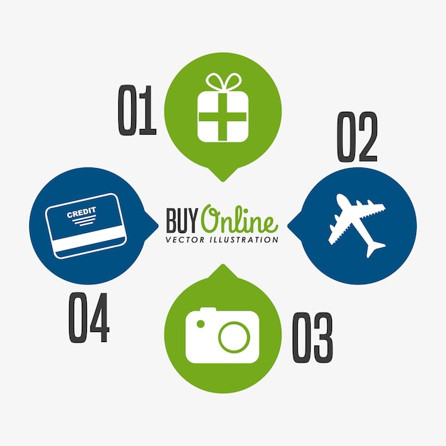Acquista design online Vettore Premium
