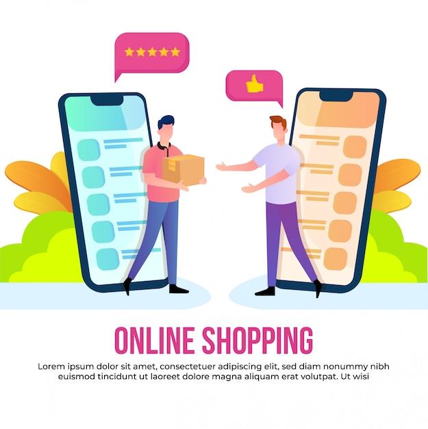 Acquisti online Vettore Premium