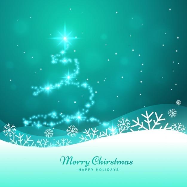 Immagini Di Natale Glitter.Albero Di Natale Fatto Con Glitter Scaricare Vettori Gratis