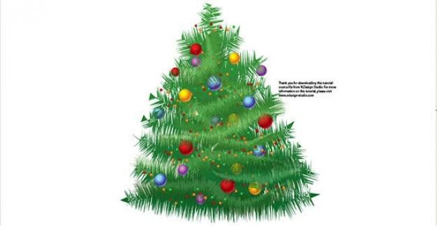 Immagini Natale Free.Albero Di Natale Free Vector Scaricare Vettori Gratis