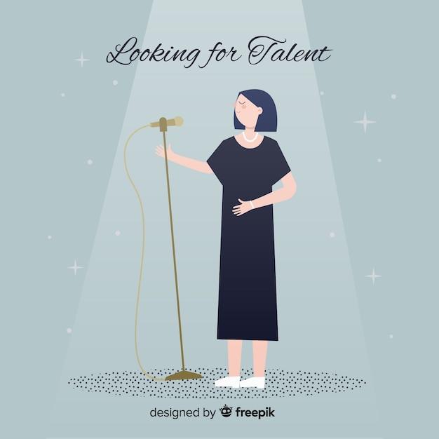 Alla ricerca di talento Vettore gratuito