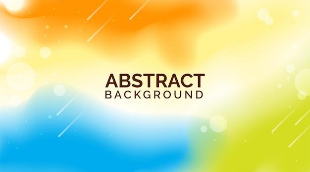 Ambiti di provenienza astratti di pendenza blu arancio, ambiti di provenienza variopinti moderni, ambiti di provenienza astratti dinamici Vettore Premium