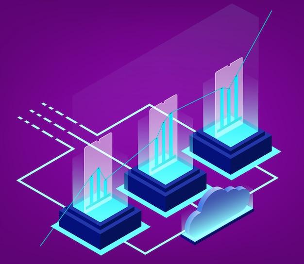 Analisi dei dati isometrici e statistica aziendale Vettore Premium
