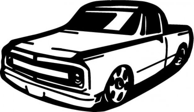 Annata camioncino Vettore gratuito
