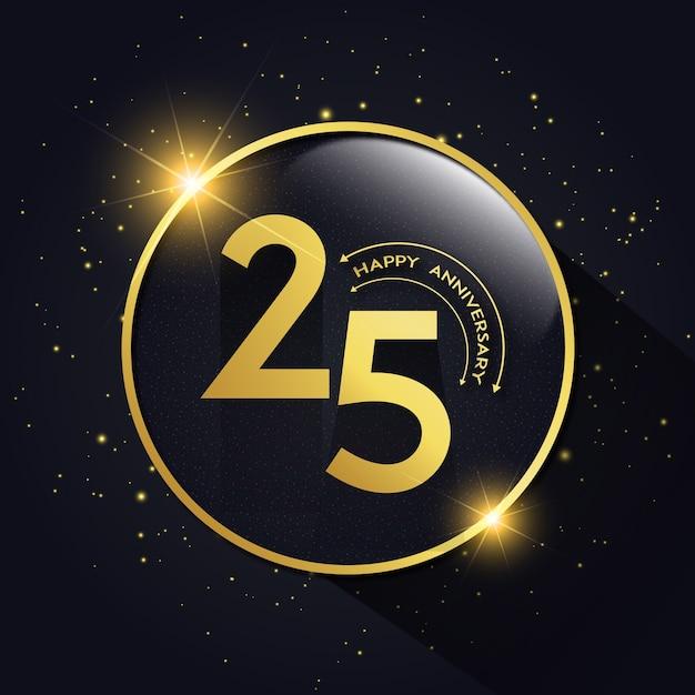 Xxv Anniversario Di Matrimonio.Anniversario Di Matrimonio Con 25 Anni Di Lusso Scaricare