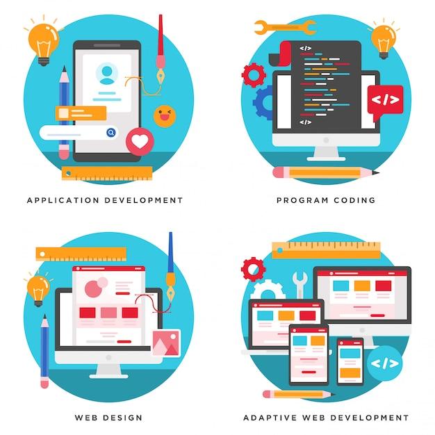 Applicazione sviluppo di siti web progettazione di for Programmi di progettazione