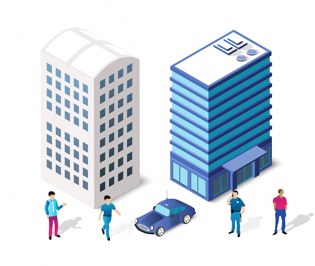 Architettura Vettore Premium