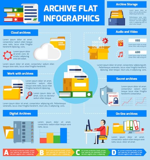 Archivio infographic set Vettore gratuito