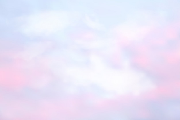 Asbtract sky in color pastello Vettore Premium