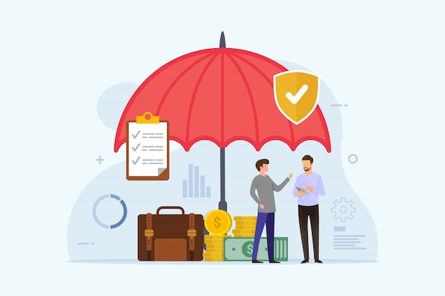 Assicurazione busines con protezione ombrello Vettore Premium