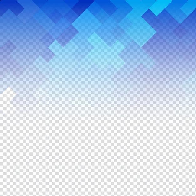 Astratto Blu Trasparente Mosaico Sfondo Scaricare Vettori Gratis