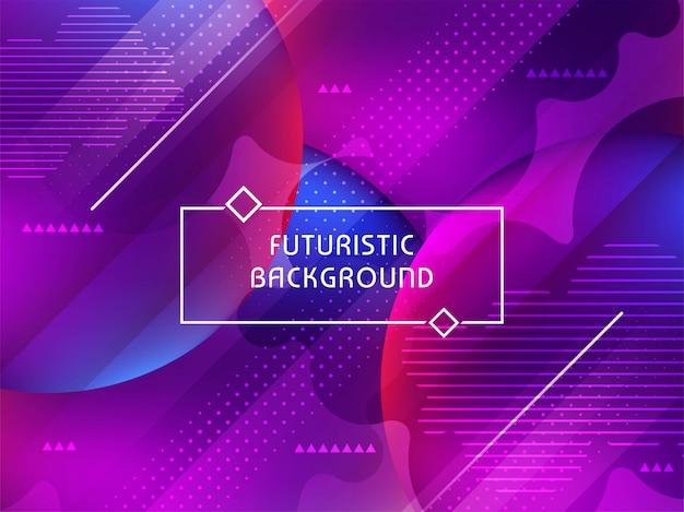 Astratto moderno elegante sfondo futuristico Vettore gratuito
