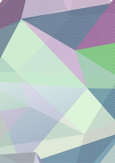 Astratto sfondo basso poli Vettore gratuito