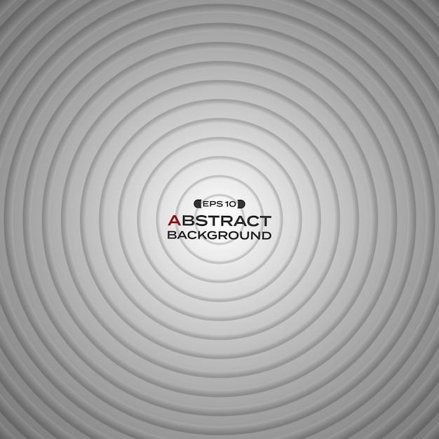 Astratto Sfondo Bianco Sfumato Cerchio Nero Scaricare Vettori Premium