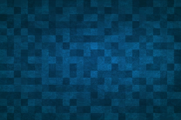 Astratto sfondo blu Vettore Premium