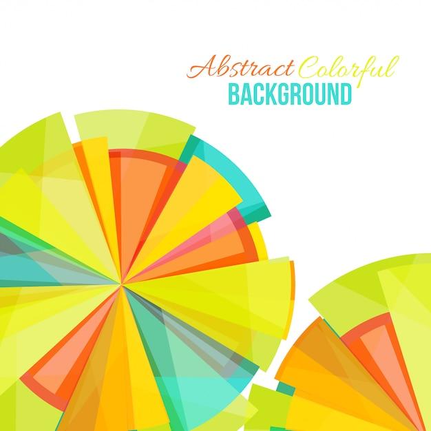 Astratto sfondo colorato Vettore Premium