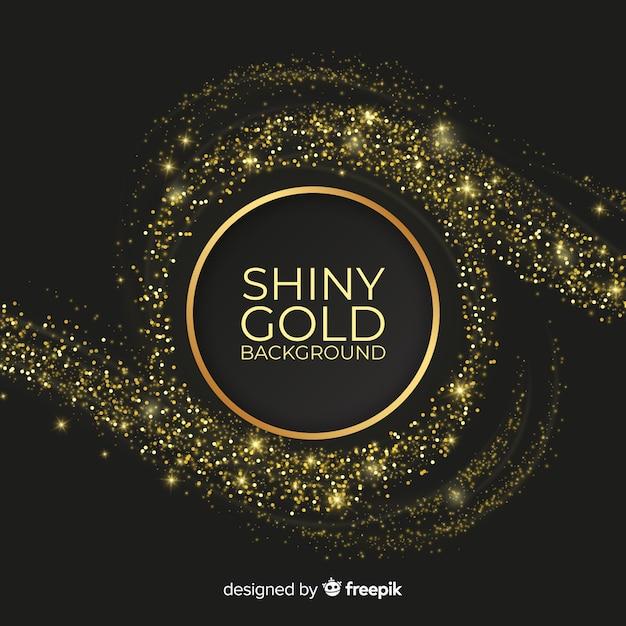 Astratto sfondo dorato Vettore gratuito