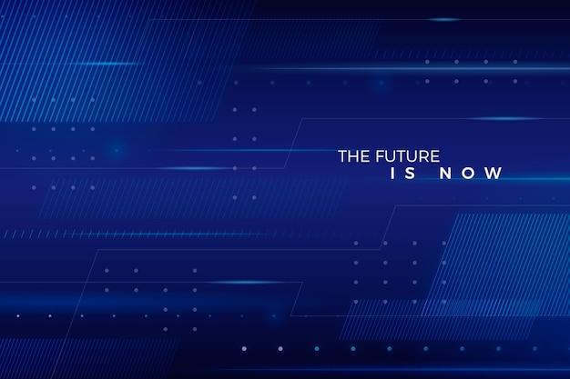 Astratto sfondo futuristico Vettore gratuito