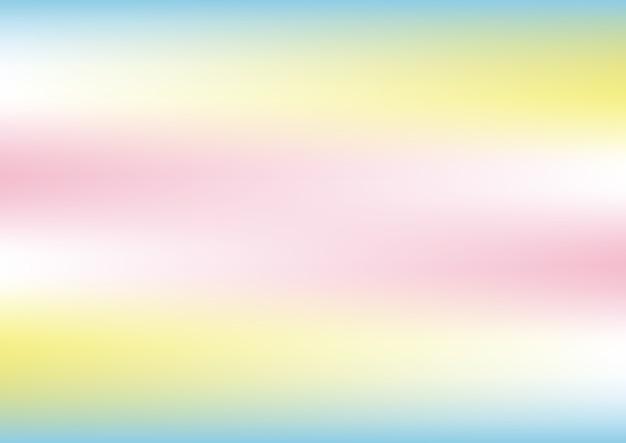 Astratto Sfondo Olografico Con Colori Pastello Scaricare Vettori