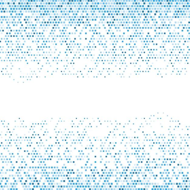Astratto sfondo pixelato Vettore gratuito